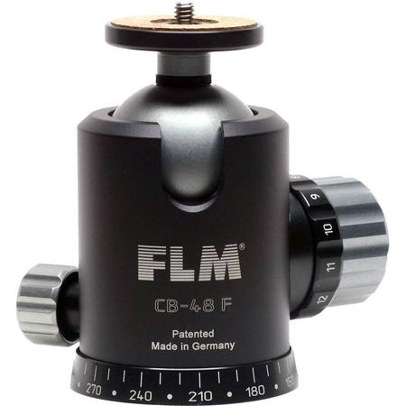 FLM CB F Professional Ballhead Comfortable Friction and Panorama Base Supports lbs 191 - 184