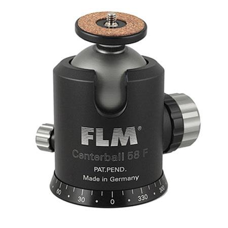 FLM CB F Professional Ballhead Comfortable Friction and Panorama Base Supports lbs 113 - 355