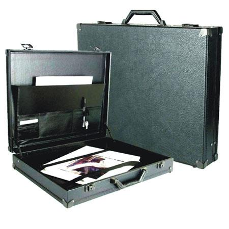 Florence Master Art Case Wood Core Laminated Portfolio Attache Metal Keyed Latches Metal Reinforced  116 - 257