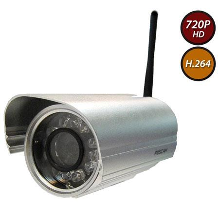 Foscam FIW Outdoor DayNight Bullet Wireless IP Camera MP IR LEDs Up to p Display Resolution Lens Sil 39 - 245