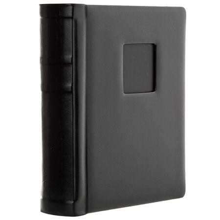 Flashpoint Bella Book Bound Album HoldsPhotos Window Color Pages Cover Foil and Metal Edged 80 - 563