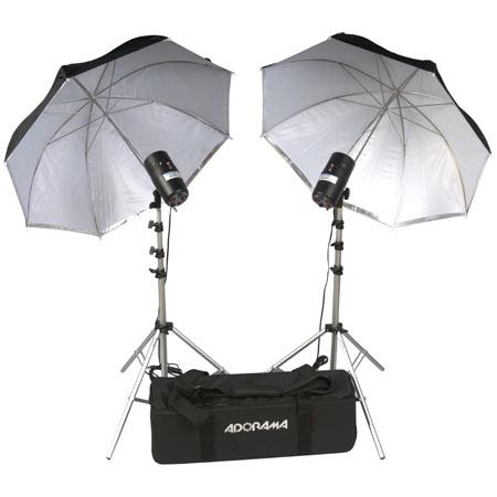 Flashpoint Budget Studio Monolight Flash Basic Kit Watt Second Flashes Light Stands Umbrellas Carryi 76 - 84