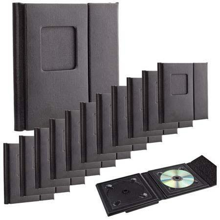 Flashpoint Overlapping CD Holder Holds CDs Cover Window Color Case Of  178 - 447