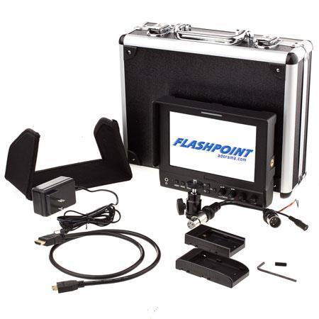 Flashpoint LED Field Monitor t Resolution Aspect Ratio HDMI InputOutput 195 - 181