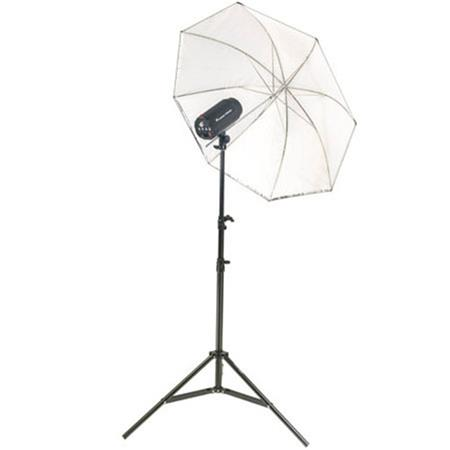 Flashpoint Budget Studio Monolight Flash Watt Seconds One Light kit 86 - 400
