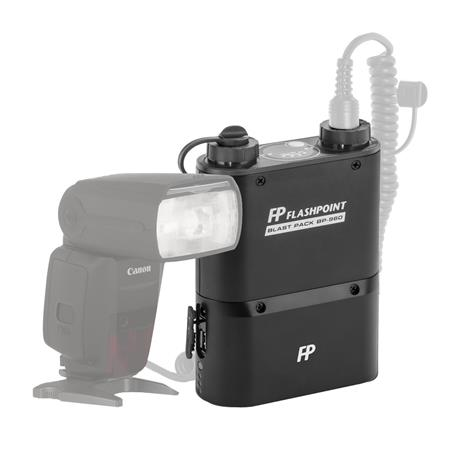 Flashpoint Blast Power Pack BP kit for Canon Flashes Includes FP CZ Cable 141 - 129