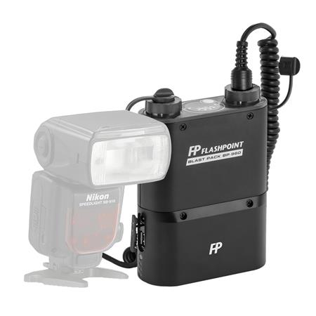 Flashpoint Blast Power Pack BP Kit for Nikon Flashes Includes FP CKE Cable 14 - 574