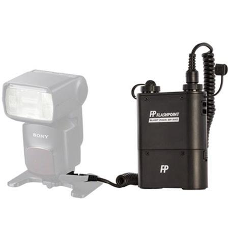 Flashpoint Blast Power Pack BP Kit for Sony Flashes Includes FP CL Cable 195 - 300