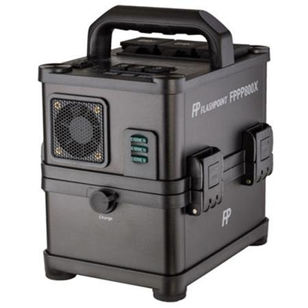 Flashpoint PowerStation PS ACDC On Location Power Supply Powers Multiple AC strobes 67 - 571