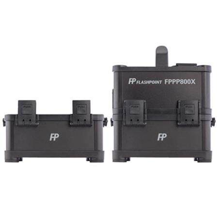 Flashpoint PowerStation PS ACDC On Location Power Supply Powers Multiple AC strobes Extra Battery 39 - 166