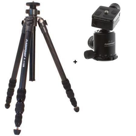Flashpoint F Version Carbon Fiber Tripod F Magnesium Ball Head Section Leg Set Supports lbs Maximum  38 - 469