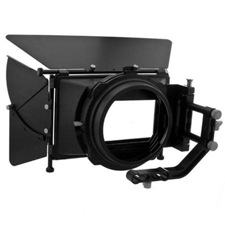 Flashpoint DV DSLR Matte BoPro Complete Bundle Swing away Arm Top French Flags Side Wings Rubber Don 304 - 407