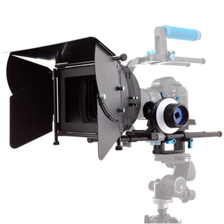 Flashpoint DV DSLR Matte BoPro Complete Bundle wFollow Focus Pro II Swingaway Arm Flags Side Wings R 174 - 219