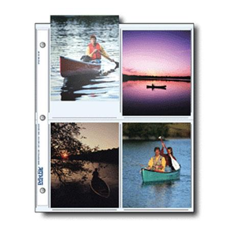 Print File Archival Photo Pages Holds EightPrints Pack of  59 - 416