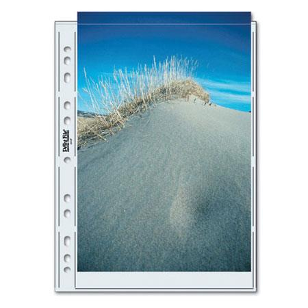 Print File Archival Photo Pages Holds Two ASize Prints or Documents Pack of  110 - 462
