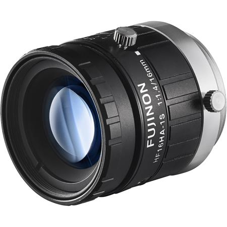 Fujifilm Fujinon HFHA B F F Fixed Focal Lens MP Cameras C Mount Manual Iris Industrial and Machine V 124 - 249