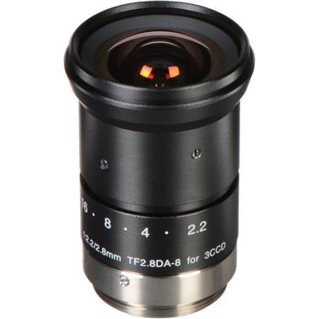 Fujinon TFDA F Fixed Focus Lens Machine Vision and Robotics C Mount Manual Iris 68 - 510