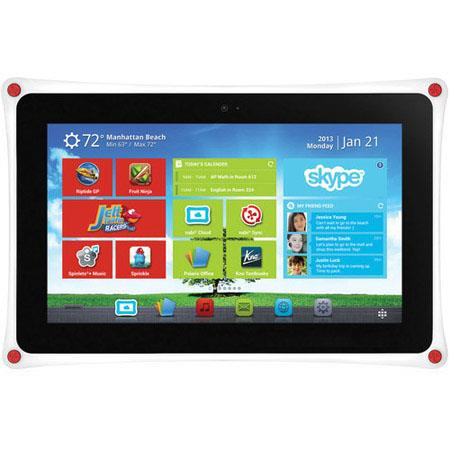Fuhu Nabi XD Tablet Computer NVIDIA Tegra Quad Core GHz GB RAM GB Storage Android Jelly Bean 134 - 697