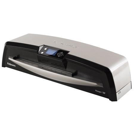 Fellowes Voyager Laminator roller System minute Laminating Speed mil Thick SilverBlack 217 - 509