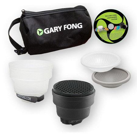 Gary Fong Lightsphere Collapsible Portrait Lighting Kit Patented Mounting System 43 - 114
