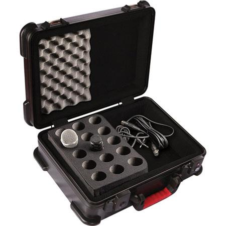 Gator Cases GM TSA ATA Molded Case Drops Mics TSA Latches 234 - 547