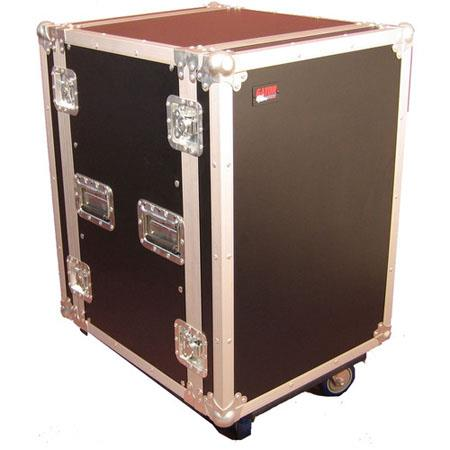 Gator Cases G TOUR U CAST ATA Wood Flight Rack Case Casters Deep 130 - 505