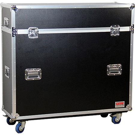 Gator Cases G TOUR ELIFT ATA Wood Flight Case Electric Lift LCDPlasma Screens 53 - 128