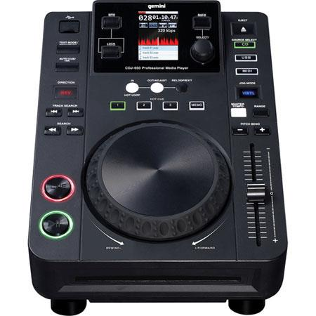 Gemini CDJ Professional DJ Media Player 81 - 705