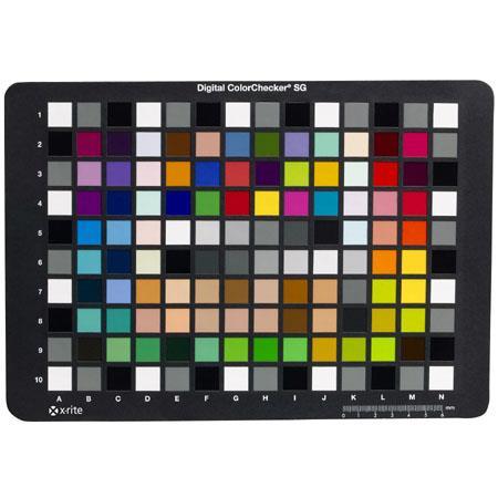 X Rite Digital ColorChecker SG Semi GlossCard use ProfileMaker Digital Camera Module 289 - 327