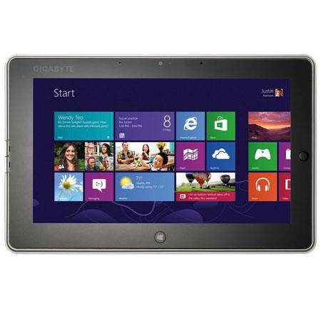 GIGABYTE S CF LED Tablet Computer Intel Celeron Dual Core GHz GB DDR RAM GB SSD Windows Professional 113 - 452