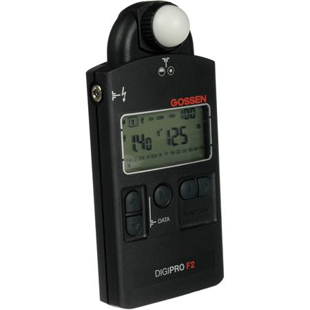 Gossen Digipro F Light Meter f to f Aperture stops 208 - 444