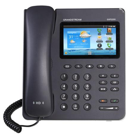 Grandstream GXP Enterprise Multimedia Phone AndroidTouch Screen TFT LCD Bluetooth HD Audio Quality F 31 - 461