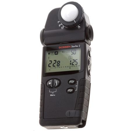 Gossen Starlite Multifunction Light Meter Ambient Flash and CIne 130 - 532
