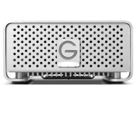 G Technology G Raid mini TB USB Mini Hard Drive FireWire eSATA Interface Silver 312 - 102