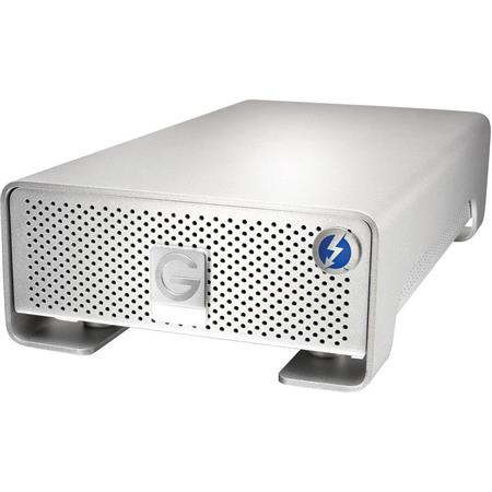 G Technology G Drive Pro TB External Hard Drive Dual Thunderbolt Ports RPM Up to MBs Transfer Speed 84 - 560