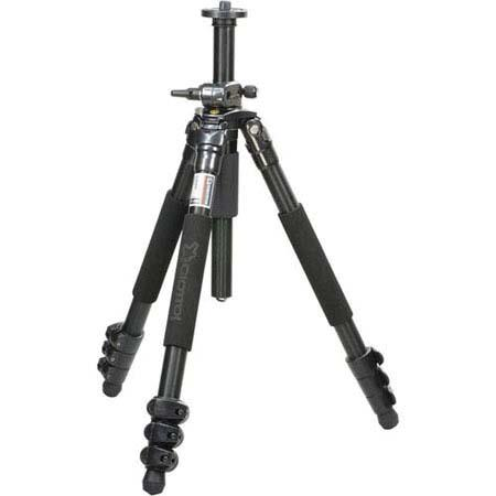 Giottos MTL B Section Compact Pro Aluminum Tripod Maximum Height Supports lbs 143 - 760