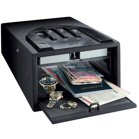 GunVault GVB Biometric Mini Vault Pistol Safe Fingerprint Recognition to Access 41 - 97