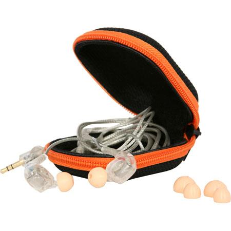 Galaxy Audio EB Professional Dual Driver In Ear Monitor Headphones Carrying Case Hz kHz Ohms 236 - 48