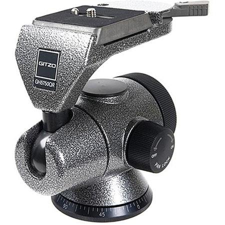 Gitzo GHQR Series Magnesium QR Off Center Ball Head Supports lbs 68 - 114