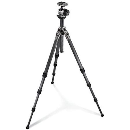 Gitzo Series GKQR Section Carbon Fiber Tripod Kit Ballhead and Rapid Column Maximum Height Supports  135 - 359