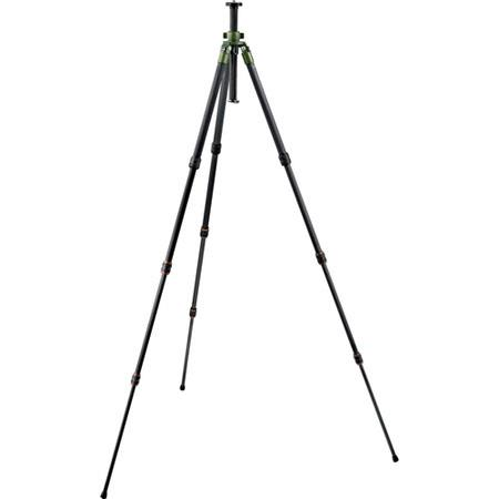 Gitzo GTF Series SafariCarbon Fiber Section Tripod MaHeight Supports lbs 78 - 653