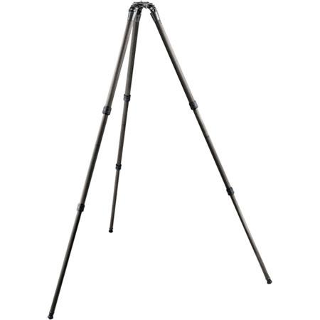 Gitzo GTLSV SeriesSystematic Section Video Long Carbon Fiber Tripod Supports kg lbs MaHeight  393 - 4