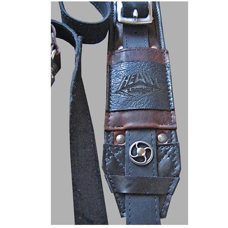 Heavy Leather NYC Steampunk Slingshot Camera Strap 102 - 606