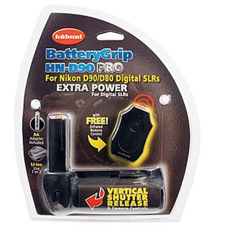 Hahnel Battery Grip Infrared Remote Nikon D Digital Camera 43 - 114