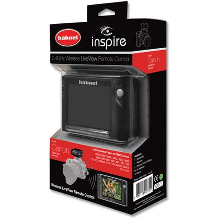 Hahnel Inspire Wireless Remote Liveview Display Canon 220 - 10