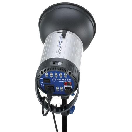 Hensel Integra Plus Watt Second Monolight Freemask Radio Receiver 51 - 683