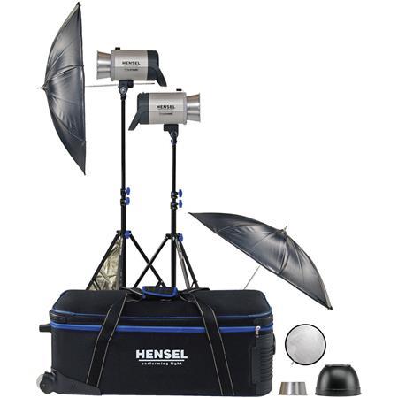 Hensel Integra Plus wFreemask Light Kit each ws wChimera Pro XSmall Lightbank and Hensel Speedring 127 - 454