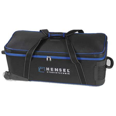 Hensel Softbag VII Deluxe Light System Padded Carrying Case Wheels  180 - 108