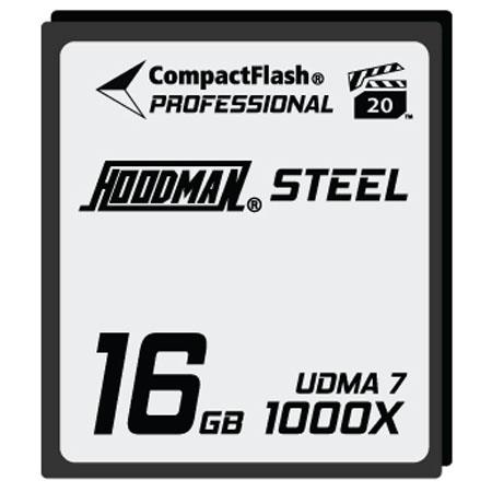 Hoodman RAW Steel Class GB CompactFlash CardHigh Speed 168 - 3