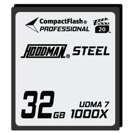 Hoodman RAW Steel Class GB CompactFlash CardHigh Speed 72 - 622